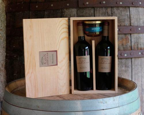 2 Botellas Albariño CdeS + 2 Lamprea Ahumada